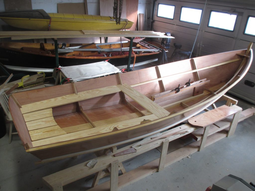 John Gardner 14foot row and sail built nov 2019